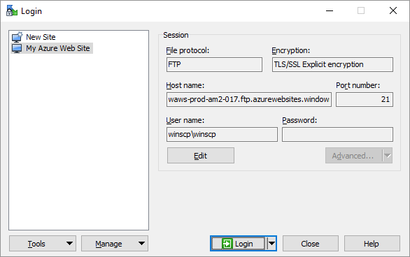 Connecting Securely to Microsoft Azure Service with SFTP or FTPS