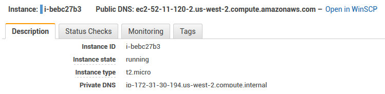Injecting SFTP or FTP URL to a page (Amazon EC2 management
