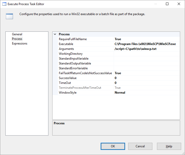 SFTP Task for SSIS/SSDT :: WinSCP