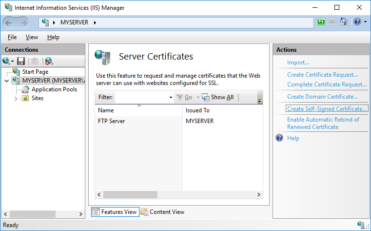 Image result for server 2008 r2 FTP server