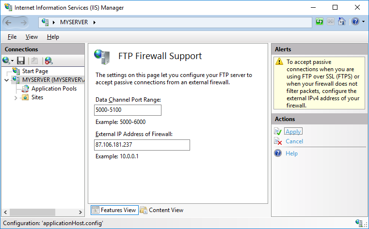 Installing A Secure FTP Server On Windows Using IIS :: WinSCP