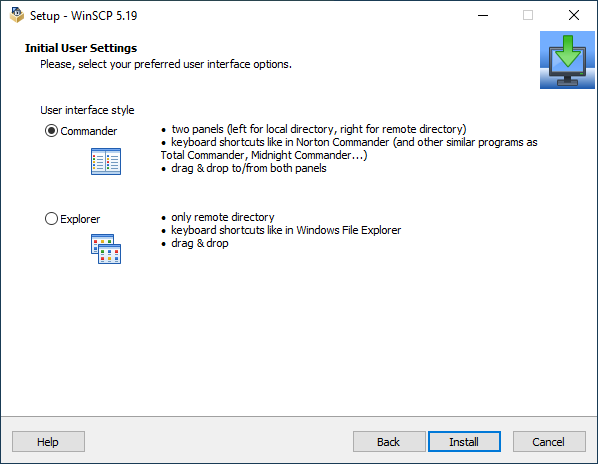 winscp pour windows 7 64 bits