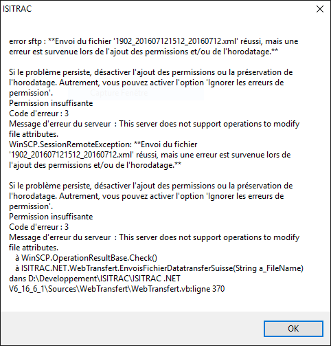 Unable File Permission Exception in VB NET :: Support Forum