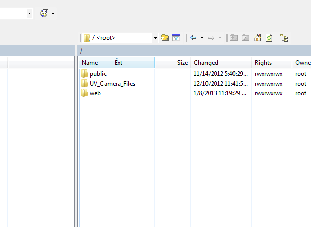 Can't Access Root Directory :: Support Forum :: WinSCP