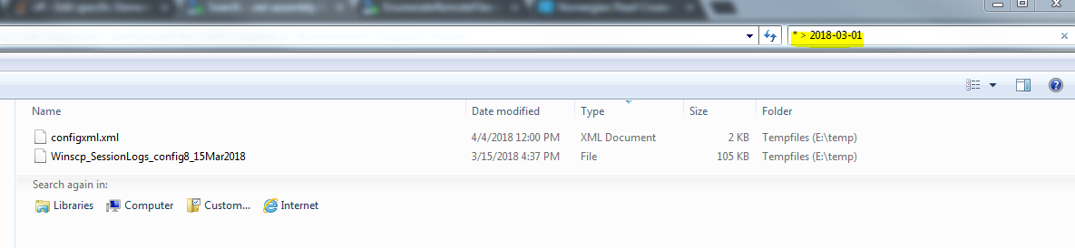 EnumerateRemoteFiles to get only new files :: Support Forum