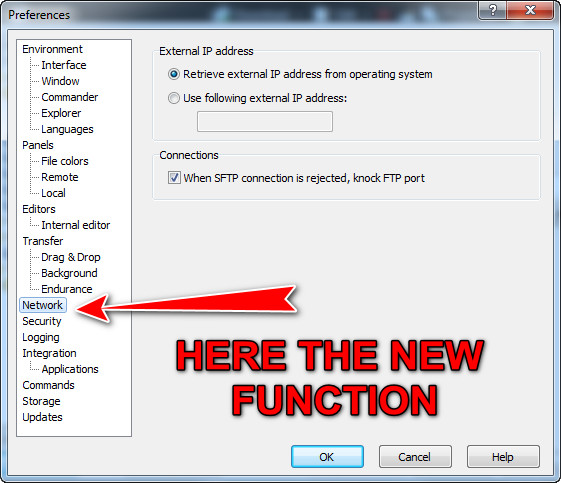 Missing Tunnel connection for WebDav server :: Support Forum :: WinSCP