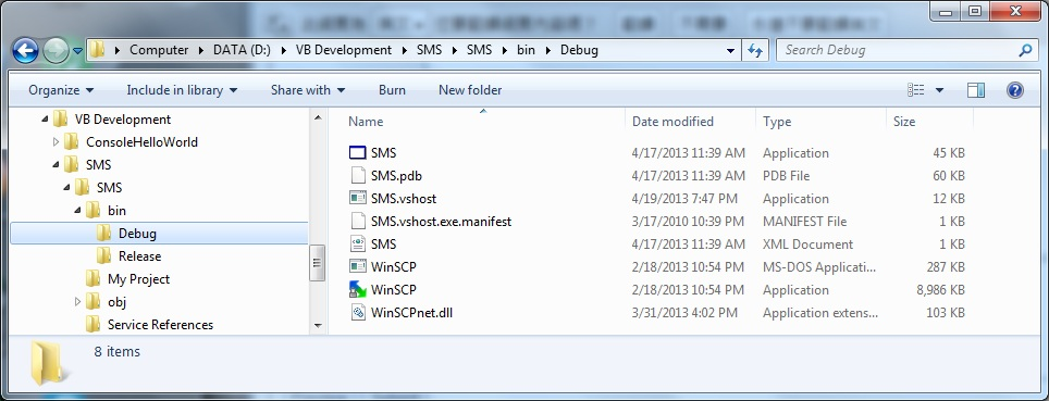 Failure on using  NET assembly in VB2010 :: Support Forum
