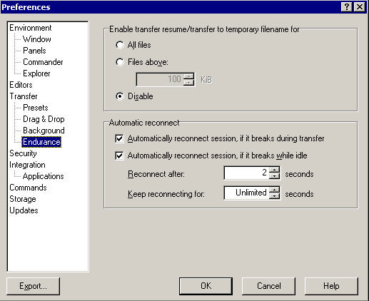 Connection Timing out :: Support Forum :: WinSCP